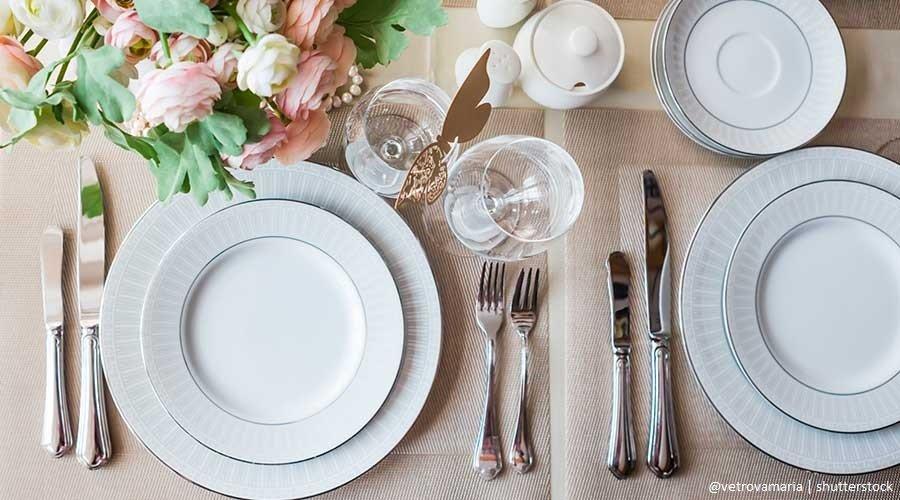Servizi di piatti - Lista di Nozze