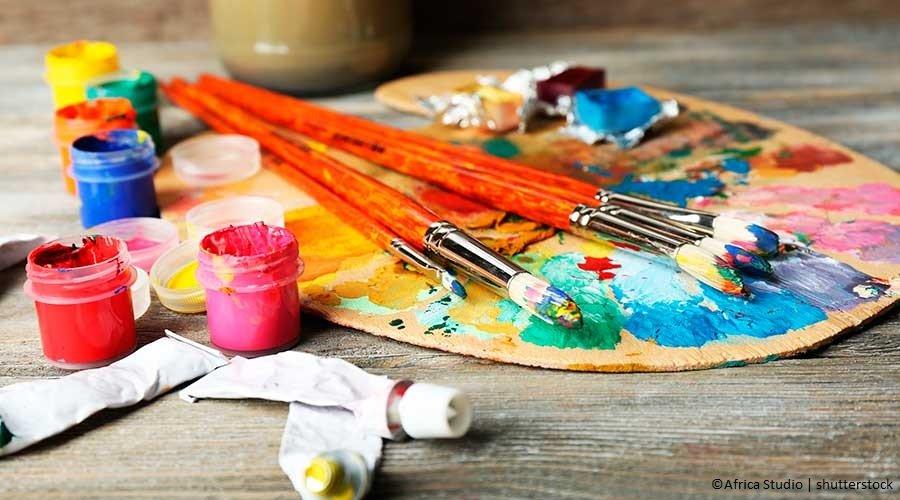 Bomboniere fai da te: la pittura su Stoffa
