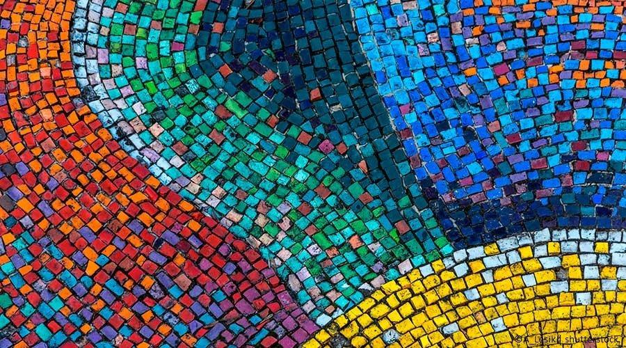 Bomboniere fai da te: il mosaico