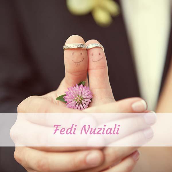 fedi nuziali sposi matrimonio