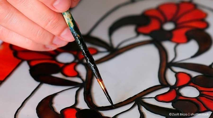 Bomboniere fai da te: la pittura su Vetro