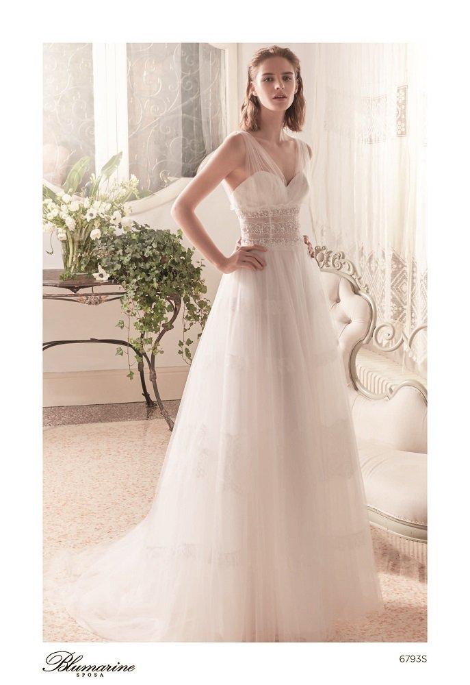 Vestiti Da Sposa Blumarine.Blumarine Sposa Collezione 2019 Sposipersempre It