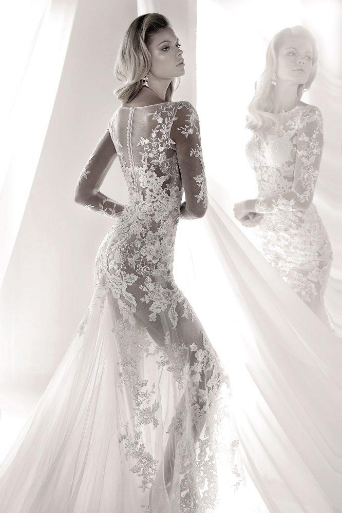 9f5fd5dac856 Luxury by Nicole Collection Prezioso abito dalla linea a sirena della  Luxury by Nicole Collection