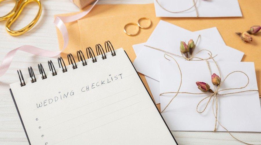 Wedding Checklist: cose da fare matrimonio wedding planner